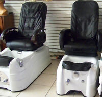 SPA CHAIRS  NAIL TABLES  RECEPTION DESK FOR SALE