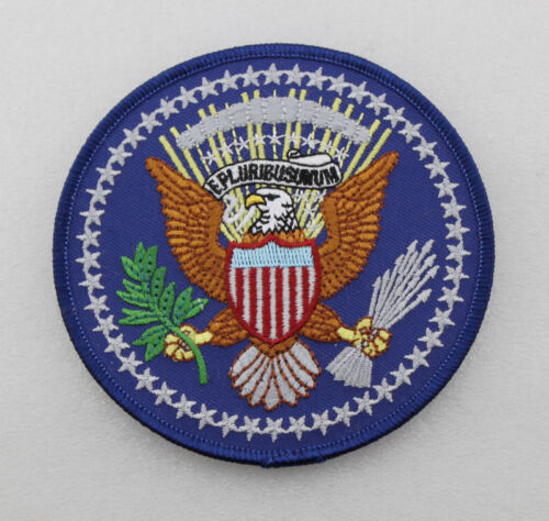 US PRESIDENTIAL SEAL OF THE PRESIDENT EMBROIDERED PATCH