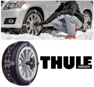 NEW THULE CAR SNOW CHAIN PAIR 2004535756 214188855 K-Summit Low-Profile K-Summit XL Tire Chains (235/70R16)