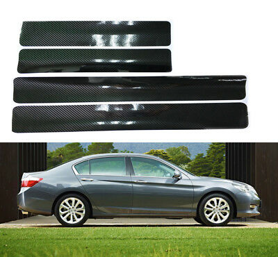 Car Truck Bumper Trunk Scuff Plate Door Sill Plate Panel Strip Step Protector x5