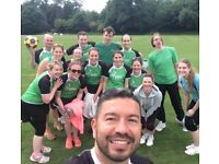 Try a new sport for summer - korfball! Like basketball or netball & perfect for beginners