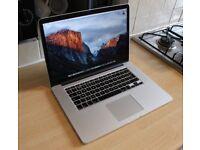 "15"" Retina MacBook Pro, 3.2GHz - i7, Adobe CS6, Logic Pro, Final Cut Pro, Office, AutoCAD"