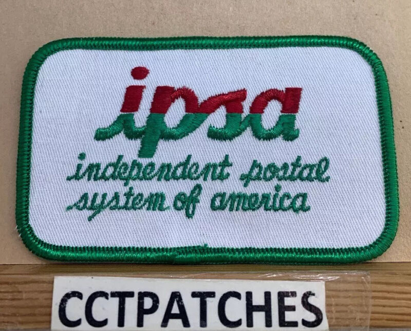 IPSA INDEPENDENT POSTAL SYSTEM OF AMERICA PATCH