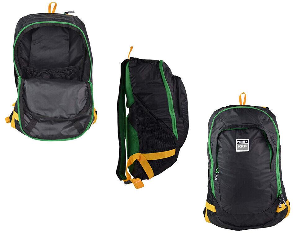 New Balance Team Medium Bag Polyester Zip Backpack 2 Strap Navy Unisex WFBTBP5