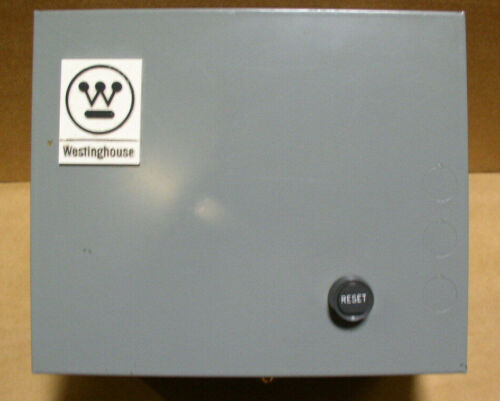 Westinghouse Eaton Cutler Hammer  A200 Enclosure with Reset NEW  MOTOR STARTER
