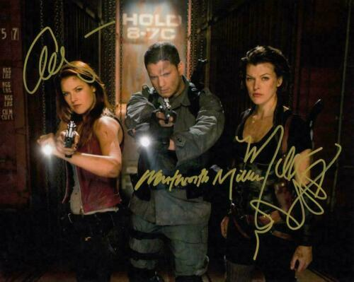Jovovich / Miller ( Resident Evil ) Cast Autographed Signed 8x10 Photo Reprint