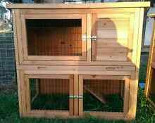 DOUBLE STORY RABBIT,GUIEA PIG HUTCH STARTUP COMBO DEALS MINI LOPS Londonderry Penrith Area Preview