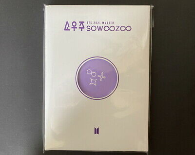 BTS-SOOWOOZOO 2021 MUSTER OFFICIAL POSTCARD BOOK