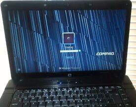 "Notebook HP compaq 15.6"", new Windows7 Pro,Intel T5870 CPU, 4GB RAM, WiFi, DVD, Bluetooth, bargain"