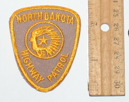 NORTH DAKOTA HIGHWAY PATROL NDHP Troopers Police Small Hat patch