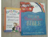 Children's bibles and 4 CDs