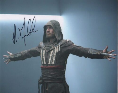Michael Fassbender Assassin's CreedAutographed Signed 8x10 Photo COA #5