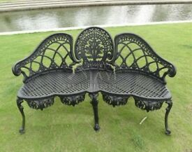 CAST IRON AND ALUMINIUM GARDEN FURNITURE TABLES CHAIRS BENCHES BRISTO SETS SEATS