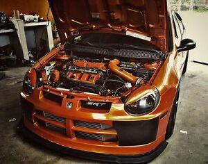 Dodge Neon 2G SRT4 SRT-4 03 05 Carbon Fiber Bumper Covers Fog Light Delete