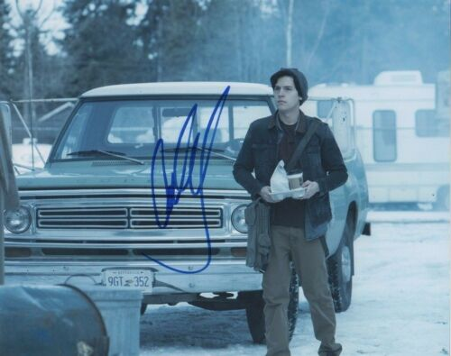 Cole Sprouse Riverdale Autographed Signed 8x10 Photo COA #S3