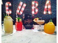 Revolucion De Cuba Kitchen Porters