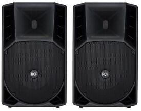 2 x RCF ART735A Active PA Speakers ART 735 A 15inch 700 Watt RMS