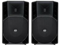 2 x RCF ART735A Active PA Speakers ART 735 A 15inch 700 Watt RMS