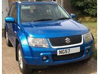 2007 Suzuki Grand Vitara - 2.0 Petrol - Metallic Kashmir blue