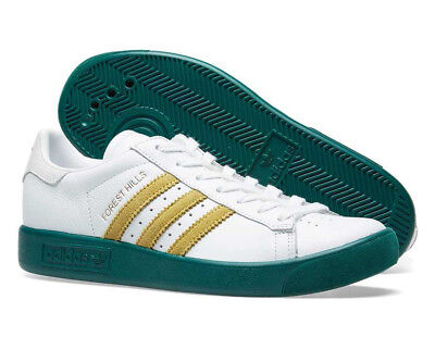 "bnib ADIDAS FOREST HILLS UK 7.5  White / Green / Gold ""Celtic ""spezial AQ0921"