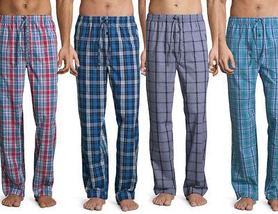 - MEN'S PAJAMA PANT Stafford Cotton-Blend Poplin Lounge Pants w/Pockets (#sh5b)