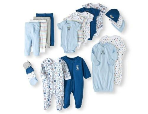 Newborn Baby Boy Clothes 0-3 3-6 months 20 Piece Set Garanim