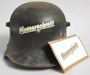 WW2-German-Messerschmitt-Factory-Helmet-Stencil-Template-M34-M35-M40-M42-WWII