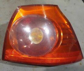 VW Golf Mk5 Right Side Rear Light 3 Doors 2005