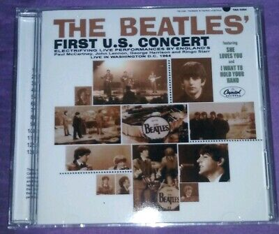 The Beatles First U.S. concert on CD! Live from Washington DC!