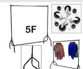Heavy-duty Clothes Rail All Metal 5feet £15.00