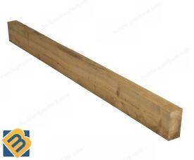 Timber Sleepers Railway Sleepers Treated Wooden Sleepers Raised Bed 200mmx100mm& 250mm x 125mm