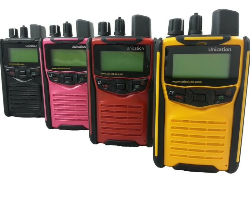 UNICATION G1 VHF PAGER FIRE POLICE EMS STORED VOICE TONES 64 CHANNELS BRAND NEW