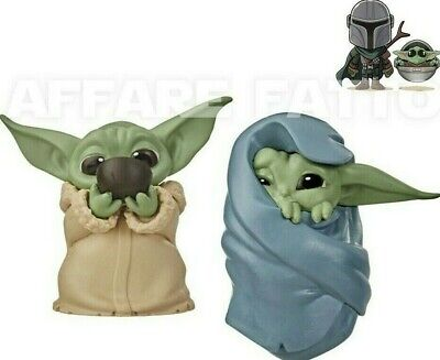 """Star Wars Bounty Collection Mandalorian The Child 2.2"""" Baby Yoda Figure 2 Pack"""