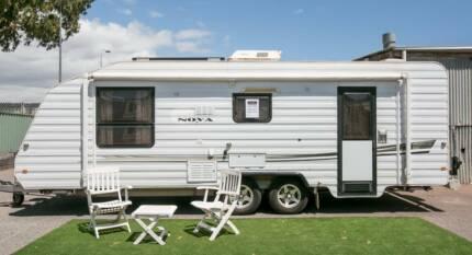 2006 21' Nova caravan tow away $33,990 Camden Park West Torrens Area Preview
