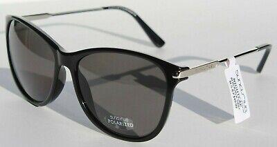 SUNCLOUD Nightcap POLARIZED Womens Sunglasses Black/Gray NEW (Suncloud Aviator Sunglasses)