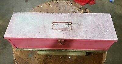 Farmall H Tractor Tool Box Bolts To Fender Brackets 2 Bolts Sh M Sm Md Tool Box