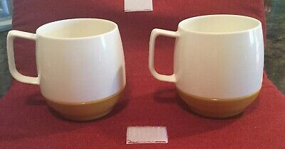 Vintage Dinex Insulated Ware Thermos Camping Cups Plastic Outdoor Mugs