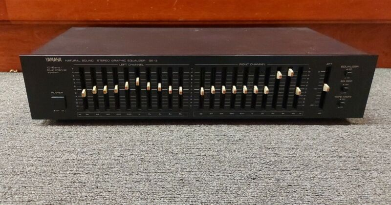 Yamaha GE-3 ~ Natural Sound Stereo Graphic Equalizer  Q21