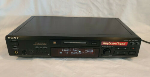 Sony MDS-JE630 Minidisc Deck - Excellent Working Condition