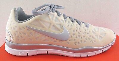 Nike Free TR Fit 3 Womens White Silver Crosstraining Shoes - NWD* - Medium