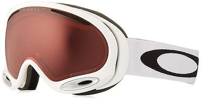 OAKLEY A Frame 2.0 Snow Ski Googles WHITE UNISEX Prizm Enhanced Vision / $130