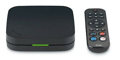 D-Link MovieNite+ Streaming Media Player (Factory Sealed) 130+ Apps&Channels