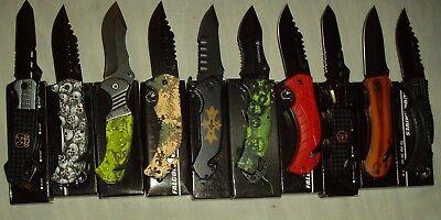 Wholesale lot - 10 pcs Spring Assist Knife (lot 874)