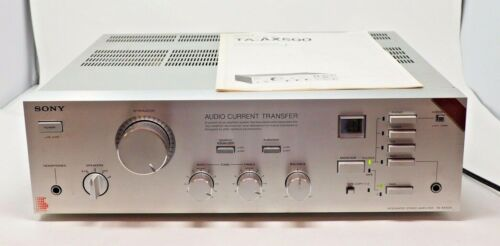 Sony TA AX500 Integrated Stereo Amplifier with Manual Works Digital