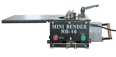 Bm Brand Rb16 Rebar Bender 58 -16mm Hydraulic Electric 1200w Tabletop