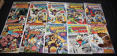 HOWARD THE DUCK 1-28 SET/LOT W. ANNUAL 27PC