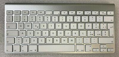 Genuine Apple Wireless Keyboard A1314 ITALIAN QWERTY Refurbished Silver