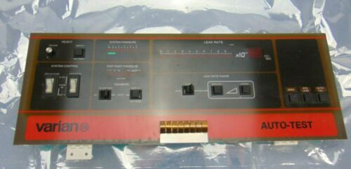 Varian Control Panel JK9658 G *used working