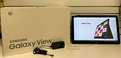 Samsung Galaxy View Android SM-T677A 64GB, Wi-Fi + 4G, (AT&T), 18.4 inch - Black