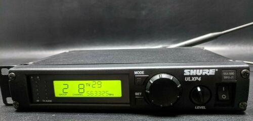 SHURE ULXP4 J1 Band 554-590 MHz Wireless Receiver